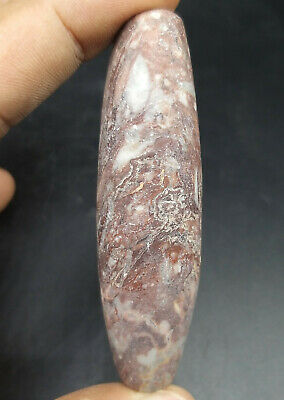 Very Ancinet Old Ghandhra Period Old Jasper Stone Very Unique Bead