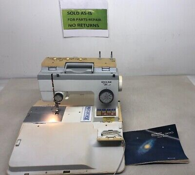 Vintage Riccar Super Stretch Sewing Machine model Galaxy 300 For Parts