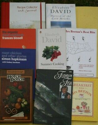 JOB LOT of 119 COOKERY/FOOD/DRINK books. Stock clearance. Some unusual. ££££