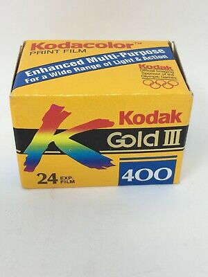 KODAK Gold III 400 35mm Color Film NOS Expired 1997