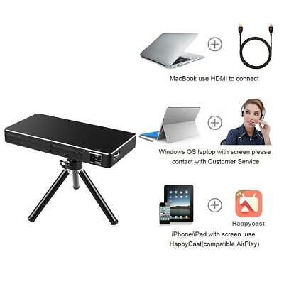 TOUMEI C800S MINI Projector,Android 7 1 Video projector