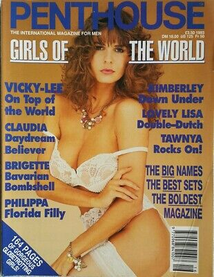 Penthouse Magazine Vicky Lee Special 1993 Adult Glamour **FREE POST**