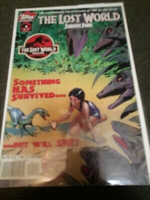 The Lost World Jurassic Park Topps Comic 1 Of 4