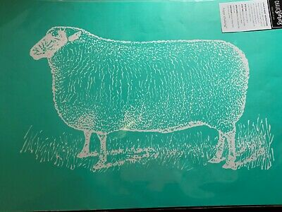 Chalk Couture Transfer, Corner Market Collection: Sheep