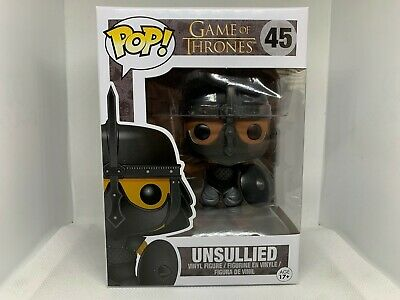 Funko Pop! Game of Thrones Unsullied Vinyl Figure #45 Rare Vaulted w/ Protector