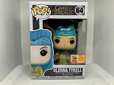 Funko Pop! Game of Thrones SDCC Exclusive #64 Olenna Tyrell Rare w/ Protector