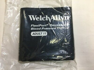 Welch Allyn FlexiPort Adult Blood Pressure Cuff 1-Tube Locking Con. REUSE-11-1MQ