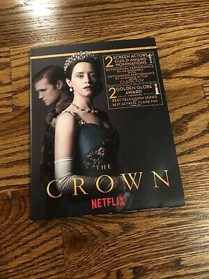 The Crown Complete Second Season FYC 2018 Rare Edition - 3 DVDs - NEW