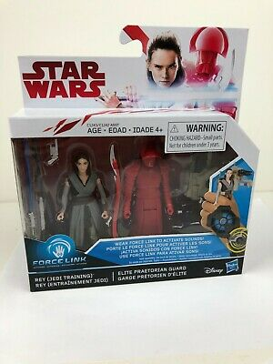 Star Wars: The Last Jedi Rey (Jedi Training) and Elite Praetorian Guard 2-Pack