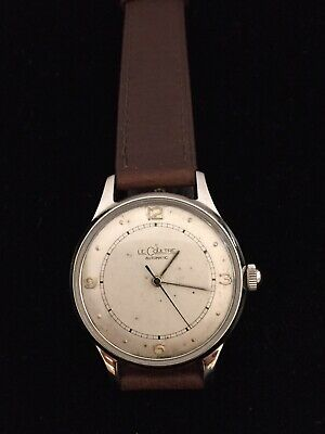 Le Coultre 17j 476 Automatic Sweep Seconds Stainless Steel Wristwatch BIN$525