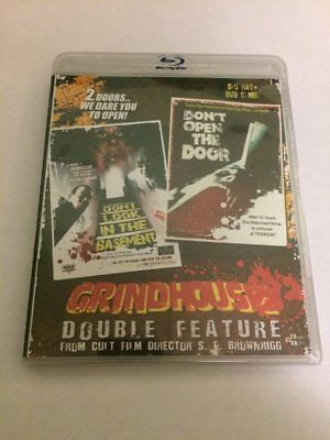 S.F. Brownrigg Grindhouse Double Feature [Blu-ray/DVD] SEALED Don't Look In The
