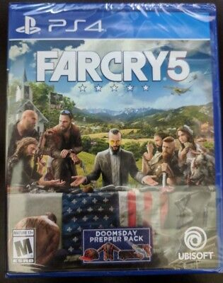 Far Cry 5 [PS4, Playstation 4] BRAND NEW FACTORY SEALED!!!!!