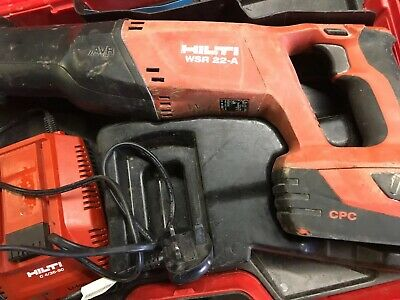 Hilti WSR 22-A Cordless Reciprocating Saw + 22V 3.3ah Battery a