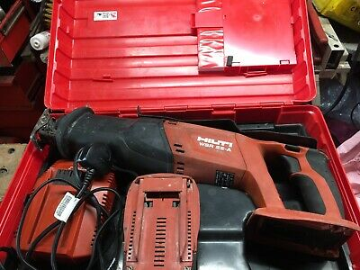 Hilti WSR 22-A Cordless Reciprocating Saw + 22V 3.3ah li-on Battery    2279a