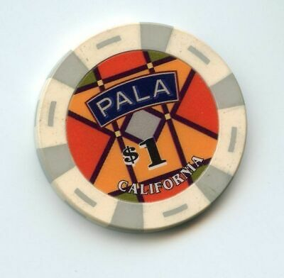 1.00 Chip from the Pala Casino in Pala California
