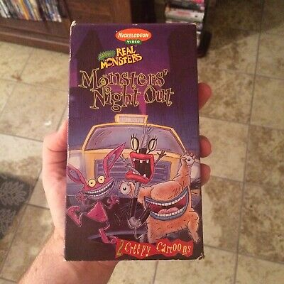 Aaahh real monsters 1997 vhs