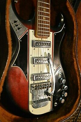 Apollo Deluxe 2235-   Vintage Guitar Teisco - Made in Japan