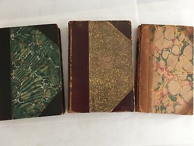 Antique Book Lot, Irving, Carlyle, Aristotle.early to late 19th.century.