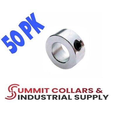 "1-3/8"" bore  (50 PCS) set shaft collar, zinc plated. Free shipping!"