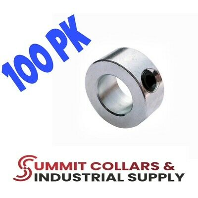 "1-3/8"" bore  (100 PCS) set shaft collar, zinc plated. Free shipping!"