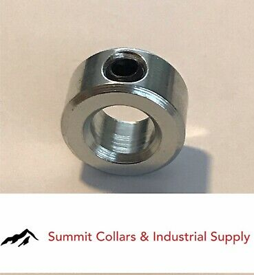 "1-3/8"" bore  (1 PC) set shaft collar, zinc plated."