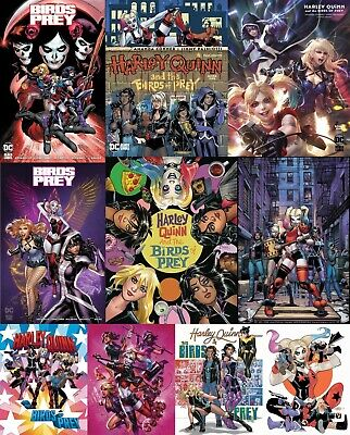 Harley Quinn and the BIRDS OF PREY #1 BLACK LABEL Ships NOW