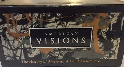 PBS American Visions History American Art & Architecture 8 VHS collection  P24