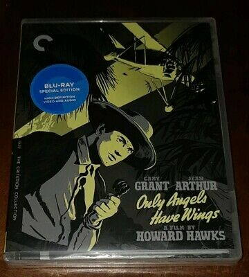 Only Angels Have Wings CARY GRANT (Blu-ray Criterion Collection 4K transfer) NEW