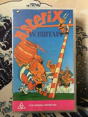 VHS ASTERIX IN BRITAIN Animated