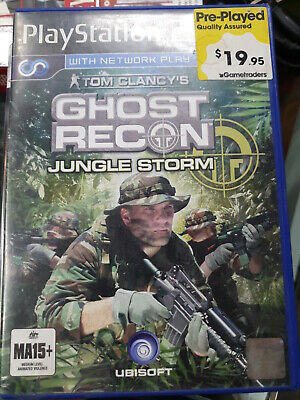 Tom Clancys ghost recon jungle storm ps2