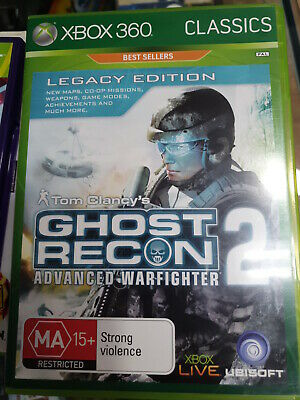 tom clancys ghost recon 2 xbox 360