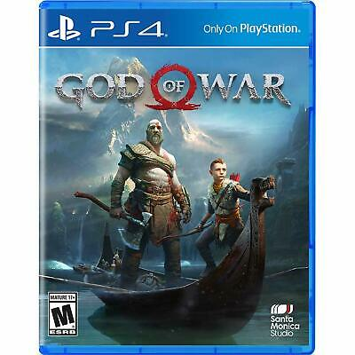 God of War Game for Playstation 4 PS4 New