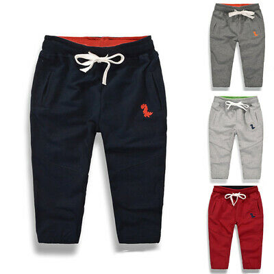Fashion Kid Toddler Baby Boy Girl Long Pants Casual Sweatpant Trousers Bottoms