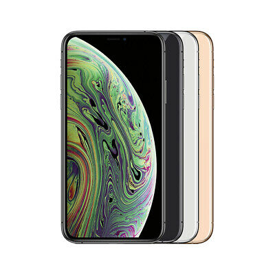 Apple iPhone XS Max As New 64/256/512 GB Grey Silver Gold Unlocked Smartphone