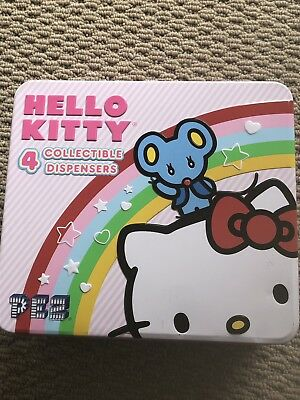 Hello Kitty 4 Pez  Collectible  Dispensers Rare New In Box Toy