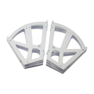 Plastic Hinges For Storage Cabinet White Two-tier Shoe Rack Cabinet Flip Frame