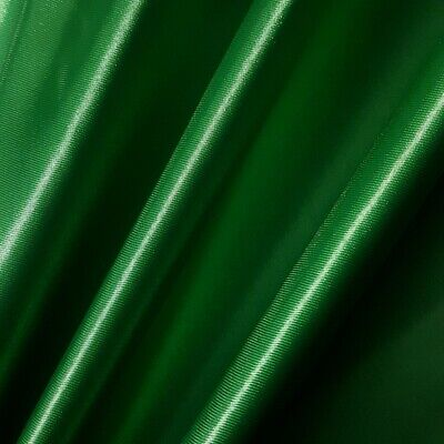 "Charmeuse Bridal Satin Fabric FLAG GREEN KELLY 60"" Glossy Silky By the Yard"