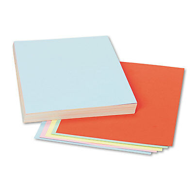 Pacon Assorted Colors Tagboard 12 x 9 Blue/Canary/Green/Orange/Pink 100/Pack