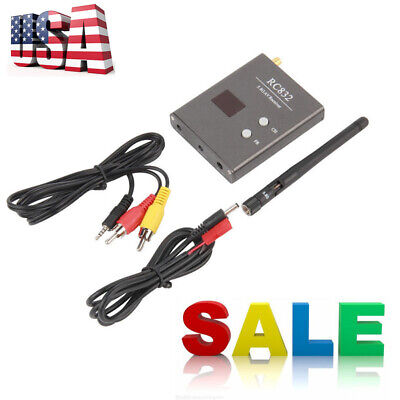 HOT Sale 1W 1000mw Audio Video Camera Image Receiver 5.8GHz for FPV