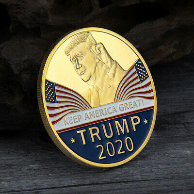 Donald Trump 2020 Keep America Great Commemorative Coin Alloy Eagle Coins