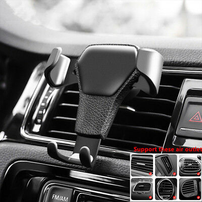 Phone Holder Car Air Vent Gravity Design Mount Cradle Stand For Mobile Phone GPS