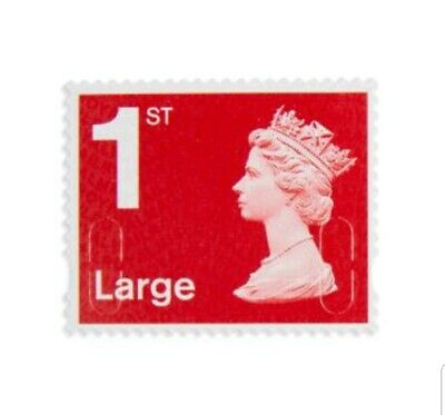 BRAND NEW Self Adhesive 1st CLASS, LARGE Letter stamp UK