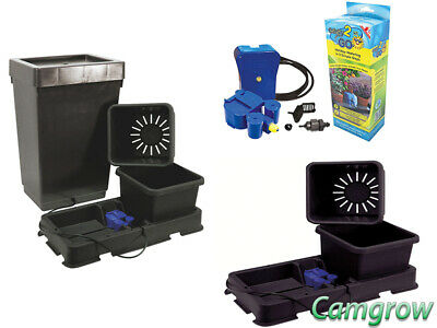 Easy2grow 2 Pot System with 47L Tank, Extension Kit & Easy2GO Kit Hydroponics
