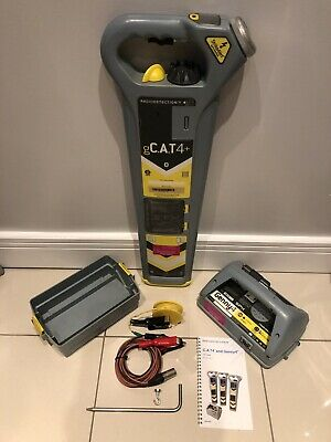 Radiodetection gCat4+Depth Cable Avoidance Tool Genny4 1YRS CAL 12 MTHS WRNTY