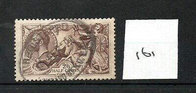 GB - GEORGE V (161) - Seahorses - 2/6d - used - high cat. value
