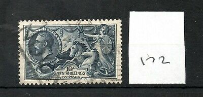 GB - GEORGE V (172) - Seahorses - 10/-d - used - high cat. value
