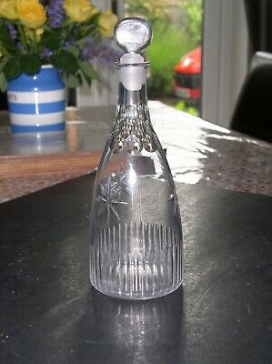 Superb Small 18th century Lead Crystal Decanter