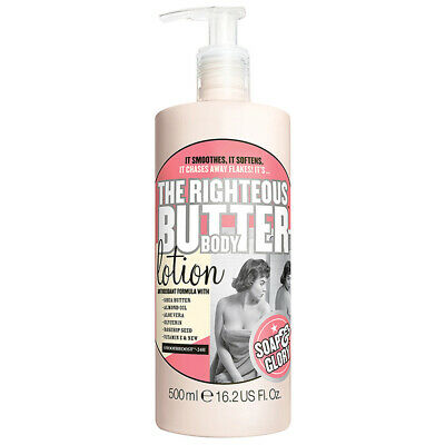 Soap & Glory THE RIGHTEOUS BUTTER SmoothBoost 'Pink' Fragrance Body Lotion 500ml