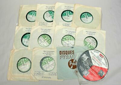 11 Rare Horse Racing Commentary Audition Disc Records John Kerwick Parkes NSW