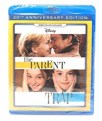 The Parent Trap (1998) Disney Blu-Ray DMC Exclusive Lindsay Lohan New SEALED